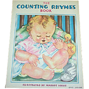 1938 Counting Rhymes Children's Book Margot Voigt