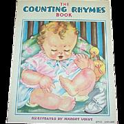 1938 Counting Rhymes Children's Book Margot Voigt