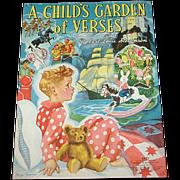 1939 A Child's Garden Of Verses Book