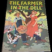 1939 The Farmer in the Dell Children's Book