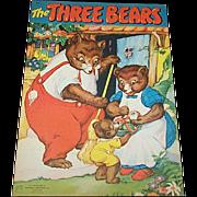 1943 The Three Bears Children's Book