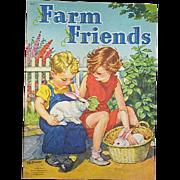 1945 Farm Friends Children's Book
