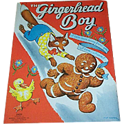 1937 The Gingerbread Boy Children's Book Merrill Publishing
