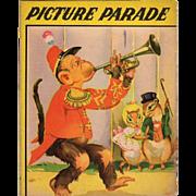 1942 Picture Parade Children's Book
