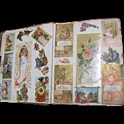 1884 Victorian Trade Card Album