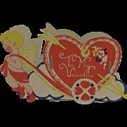 Darling Folding Valentine Candy or Nut Box
