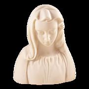 Vintage Boehm Porcelain Bust - Virgin Mary