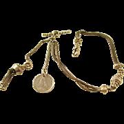 Victorian English Albertina Watch Chain Bracelet - pretty!