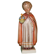 """Hummel - """"The Holy Child"""" - Early Version in Rare Larger Size - Full Bee Mark, c early 1950s"""