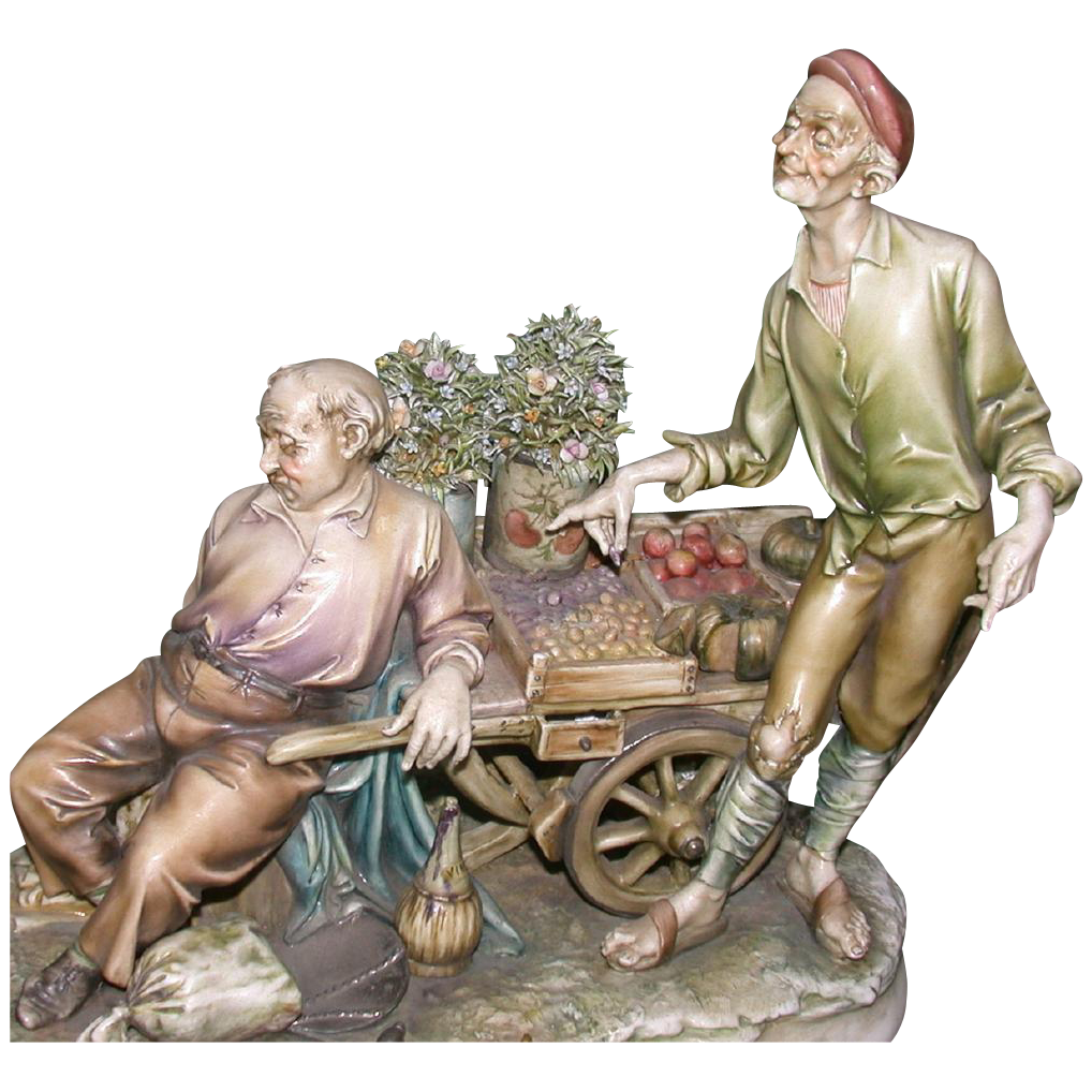 "Borsato - ""Siesta's Price"" - Fabulous Multi-Figural Sculpture"