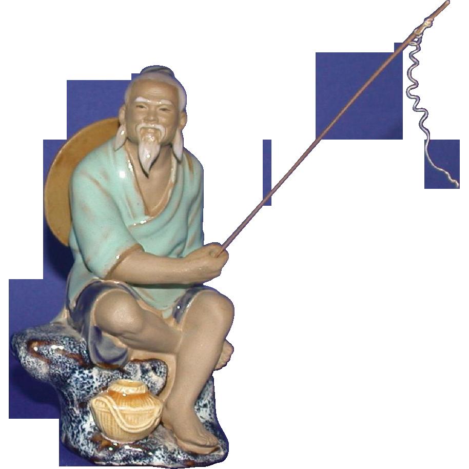 Chinese Mudman Fisherman - Early 20th Century