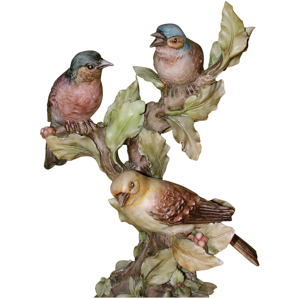 """BORSATO - """"Out On A Limb"""" - Multi Figural Porcelain Sculpture by the Master!"""