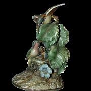 "Borsato ""Hummingbirds"" - Large Multi-Figural Incredibly Detailed Porcelain Sculpture"