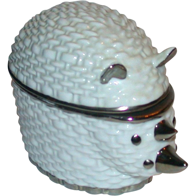 Gucci Lidded Porcelain Rhinoceros Box,  Made In Italy, Absolutely Adorable!