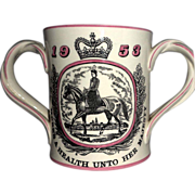 Courage and Company Limited Royal Doulton Special Edition Loving Cup Celebrating Elizabeth II Coronation, 1953