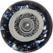 """Selkirk Art Glass (Scotland) """"Tornado"""" Limited Edition Paperweight, Signed/Numbered/Dated 1984"""