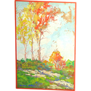 Charles Worden Bethell (1899-1951) Original Oil Painting, California Landscape