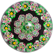 Very Beautiful Art Glass Paperweight From An Important Estate
