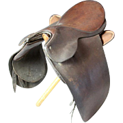 J. A. Barnsby Leather Saddle