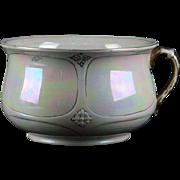 Devon Ware Porcelain Lustreware Chamber Pot, England