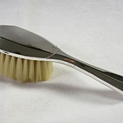 Vintage Silver Plated Baby or Child's Brush