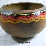 Handmade African Pottery Bowl