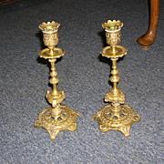 Napoleon III Candlesticks