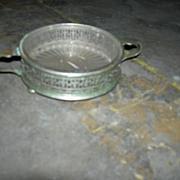 Silver  Plate Wine Coaster