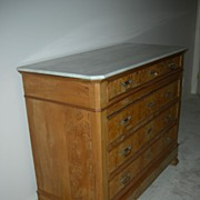 SALE Louis Philippe Commode/ Chest of Drawers