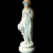 Antique 19 th Century Parian Figure