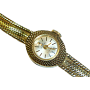 Vintage 18 K Gold Bucherer Watch