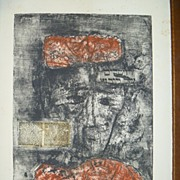 Etching with Aquatint   by Zwy Milshtein