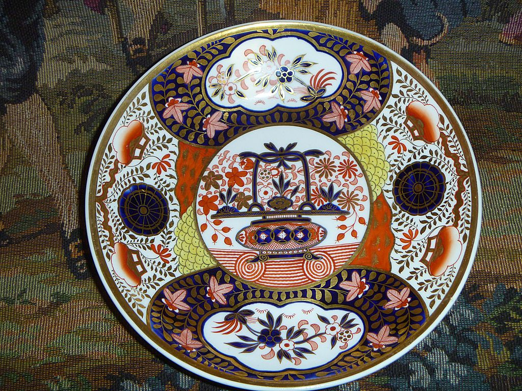 Antique Georgian Spode Imari Dish