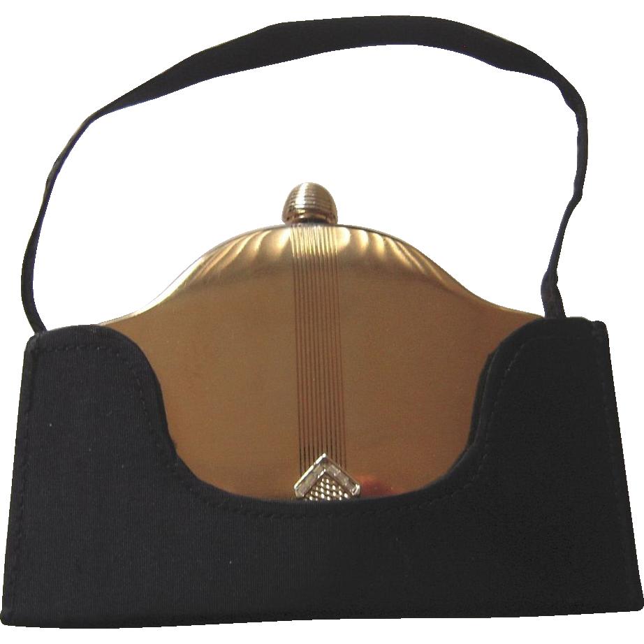 Vintage Volupte Compact Purse Carryall