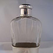 Tiffany Sterling & Crystal Flask