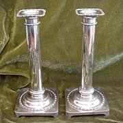 Antique Goodnow & Jenks Sterling Candlesticks