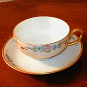 Bavarian (German) Porcelain Cup & Saucer Set