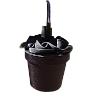 Jessica McClintock Flower Pot Shape Ladies Handbag/Purse