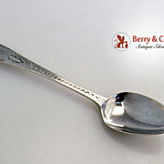 John Langlands II Coffee Spoon Newcastle 1800 Sterling Silver