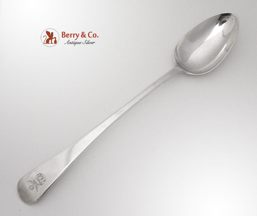 Georgian Stuffing Spoon Sterling Silver London 1808