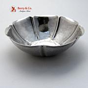 Joel Hewes Sterling Silver Hammered Dish 1920