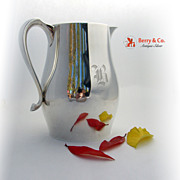 SOLD Sterling Silver Paul Revere Style Water Pitcher International