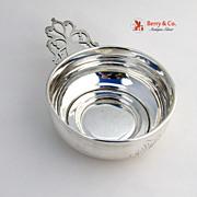 Antique Silver Baby Porringer Towle Silversmiths 1910