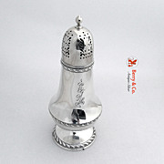 Sugar Shaker Gadroon Gorham 1952 Sterling Silver A1287 EJH