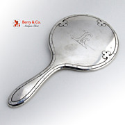 Carmel Hand Mirror Sterling Silver Wallace 1912
