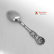 Chicago Souvenir Spoon Library Bowl Watson Sterling Silver 1900
