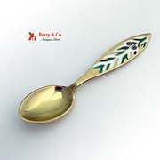 Christmas Spoon 1970 Michelsen Sterling Silver