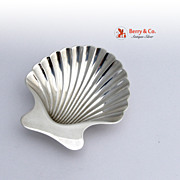 Tiffany and Co Shell Bowl Nut Cup Sterling Silver