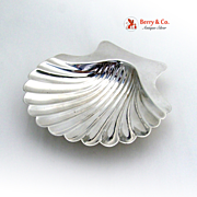 Sterling Shell Dish Medium Size Sterling Silver Graff Washbourne and Dunn