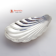SALE Shell Form Serving Bowl Sterling Silver Reed and Barton X300